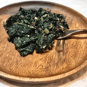 Garlicky Kale
